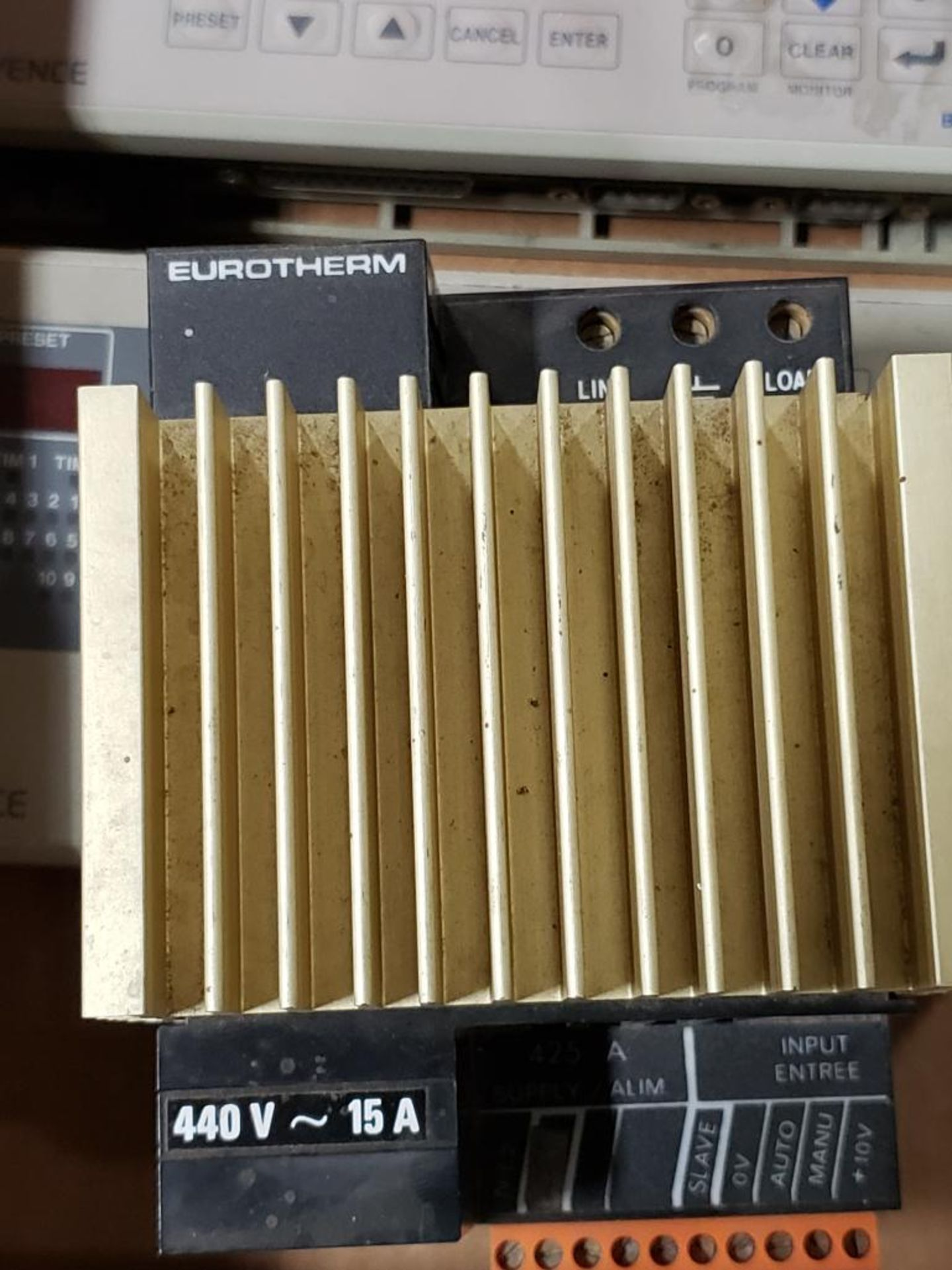 Assorted electrical. Keyence, Watlow. - Image 8 of 10