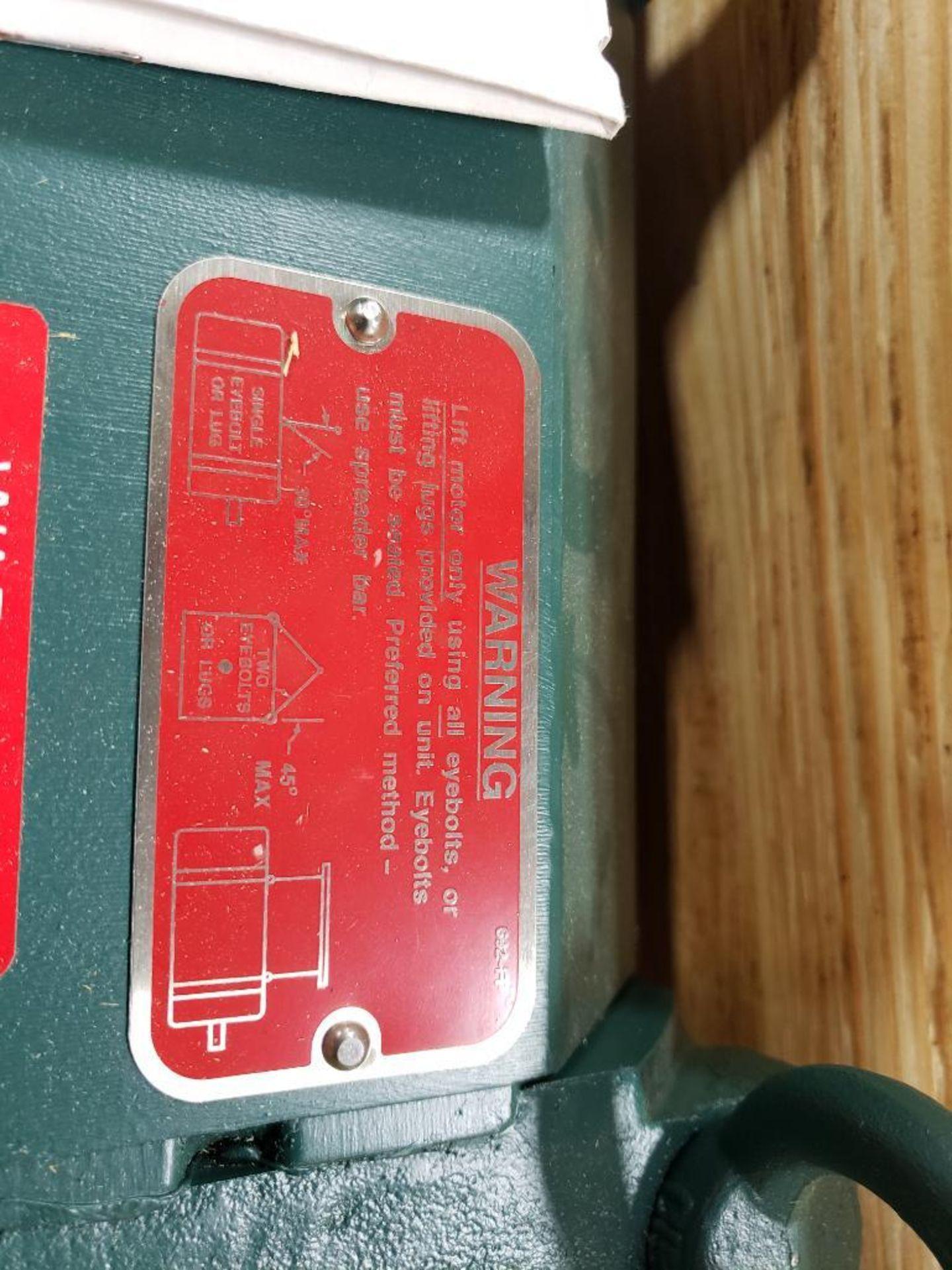 30kW Siemens 3PH Motor. 6986722-001-CJT3. 280V, 3550RM, RL2570Z-Frame. - Image 8 of 10