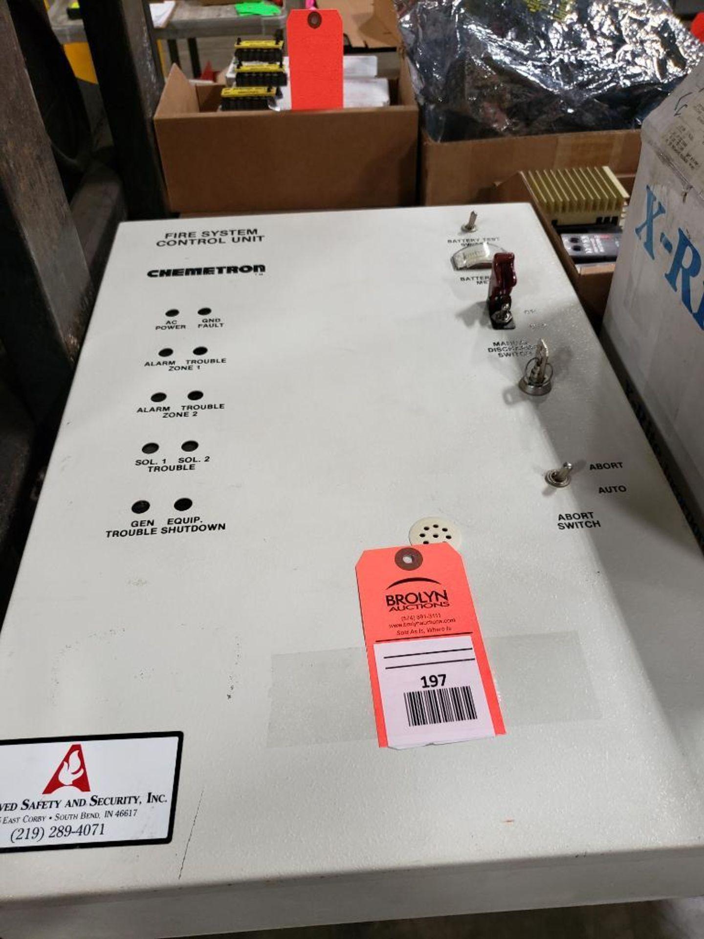 Chemetron Fire System control unit 1-010-0521-3.