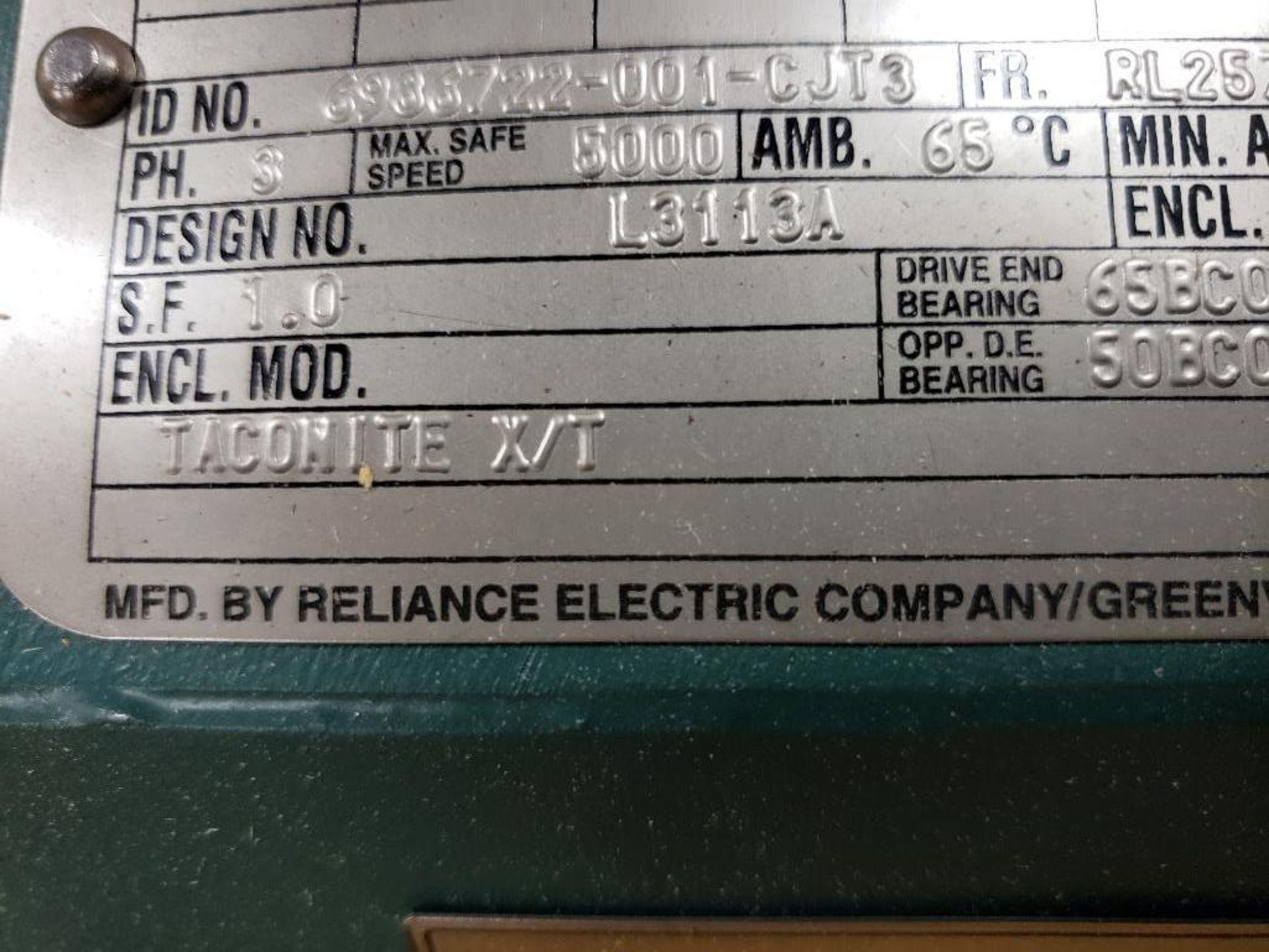 30kW Siemens 3PH Motor. 6986722-001-CJT3. 280V, 3550RM, RL2570Z-Frame. - Image 6 of 10