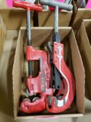 Qty 2 - Reed MFG. Co. Pipe Cutter.