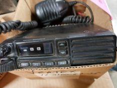 Vertex VX-2100-G7-25 2-way radio.