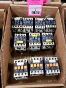 Assorted electrical contactors. Telemecanique.