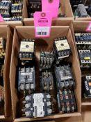 Assorted electrical contactors. Cutler-Hammer, Square-D, Fuji.