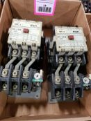 Qty 2 - Fuji electric SC-2SN Magnetic contactor.
