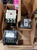 Assorted electrical. Fuji, Square-D.