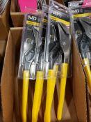 Qty 3 - Klein Tools D502-12 Pump Pliers.