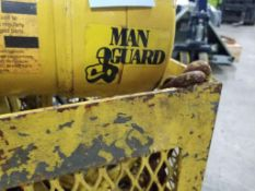 1/4 Ton Budgit Man Guard hoist.