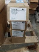 Qty 100 - Corning 3653 Flat Bottom Assay Microplate without Lid.