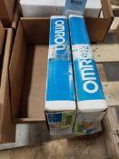 Qty 2 - Omron C500-MD211CN Module 16 I/O Input/output module.