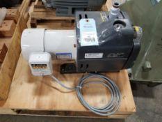 Orion Dry-Pump KHF20-V-01. 0.75kW Panasonic EMFL514PK002 3PH Induction motor. 220V, 1715RPM.