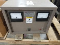 Darrah electric company 6-350-120-1-60 DC power rectifier. 120V, 25AMP, 1PH.