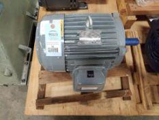 7.5HP GE 5KE213BC105C AC motor. 3PH, 230/460V, 3520RPM, 213T-Frame.