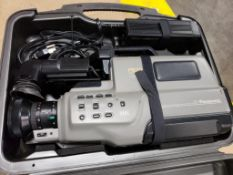 Panasonic AG-190 VHS Movie recording camera.