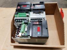 Qty 3 - 0.4kW Allen Bradley 22D-D1P4N104 drive.