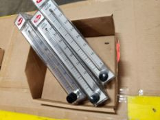 Qty 3 - Dwyer RMC-143-SSV flow meter.