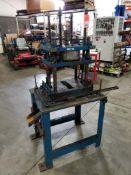 Custom pneumatic press.