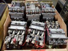 Qty 6 - Westinghouse starter contactors. A200M1CAC 27AMP.