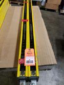 Set of Honeywell light curtains. Securitram SB FF-SB15R10K-S2/3.