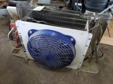Heatcraft LCE635BB low-profile walk-in unit cooler. Qty 1 - 1/15HP, 208-230V motor.