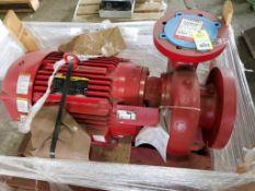 40HP Bell & Gossett e-1531 / SSF / 9.25. C276325. 1200GPM 1761RPM pump. 40HP Baldor 3PH motor.
