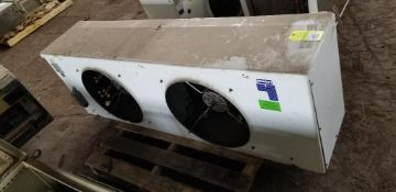 Heatcraft MLT6190BA medium profile walk in cooler unit. 2 - 1/4HP, 208-230V, 1PH motors.