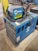 Miller Deltaweld 452 CV-DC Welding power source with 22A 24V wire feeder.