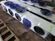 1/15HP Heatcraft LCA6260AB low profile unit cooler. 115V, 1PH, (5) motor.