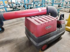 Lincoln Electric MOBIFLEX 200-M welding fume extractor 115V 1PH 750W.