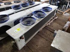 1/15HP Heatcraft LCA6260BB low profile unit cooler. 208-230V, 1PH, (4) motor.
