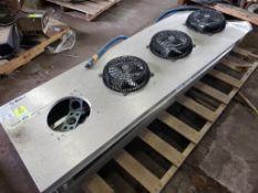 1HP Russell CTE44-95-DE low profile unit cooler. 208-230V, 1PH.