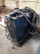 Miller Millermatic 200Constant potential DC arc welding power source and wire control/feeder system.