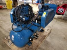 Quincy Compressor with Hankison SPX HPR5-10-115 compressed air dryer
