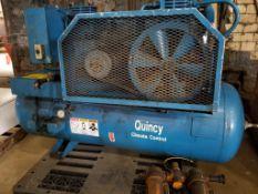 Quincy Air Compressor. 0003008DX3. 3HP Baldor motor. 208-230/460V, 3PH, 1725RPM.