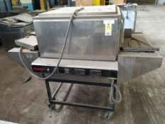 """Thermodyne Foodservice Products, INC.pass-through oven. 73x59x58. LxWxH. 32"""" mouth."""