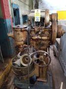Hobart dough mixer.