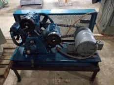 Curtis Challenge Air Power Flame air compressor. 7.5HP Baldor M3311T motor. 208-230/460V, 3PH.