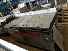 Thermodyne Foodservice 4-Bay fryer unit. 72x34x42. LxWxH.