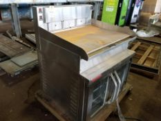 Market Forge Industries INC. 2600-HPE oven. 208V, 11kW, 3PH. American Griddle Corp. 3TT-GD griddle.