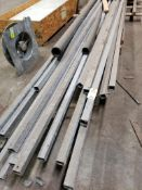 Assorted lengths of steel. Up to 25FT.