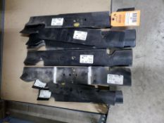 Qty 14 - Assorted mower blades. New old stock.