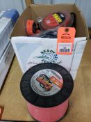 Large qty of trimmer string. New.