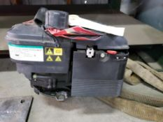 190cc Briggs and Stratton 675 series ready start engine. Appears to be new old stock.