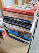 Large assortment of shop manuals.