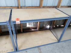 Shelf unit. 48in x 25in x 36in HxDxW.