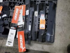 Qty 15 - Assorted mower blades. New old stock.