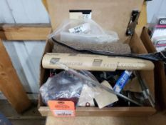 Large assortment of shop supplies and parts. Most are new.