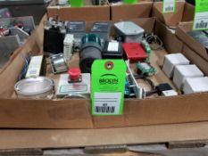 Large assortment of electrical. Mamac Systems, Advance, Psytronics.