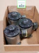 Qty 3 - Assorted solenoid valves. Binder 4142609K02, Kendrion.