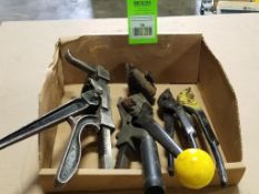 Assorted banding tools.